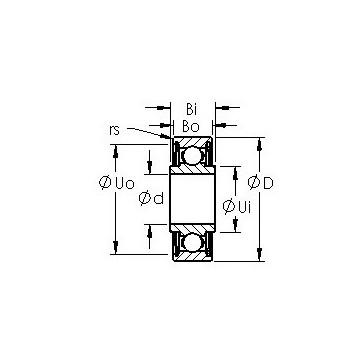 SRW156ZZ AST Deep Groove Ball Bearings